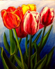 """Spring Tulips"" by Carrie Chavers"